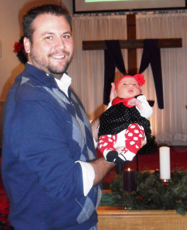 Our newest blessing: Emeree Faith