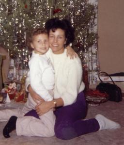 My mom, Audrey Lewis