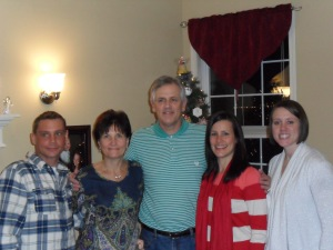 Fletcher Family Christmas 2013 closeup