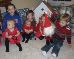 Grandkids Christmas 2013
